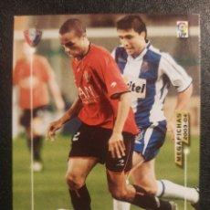 Cromos de Fútbol: MEGAFICHAS 2003/04 229 VALDO OSASUNA. Lote 218641043
