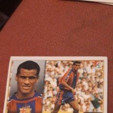 Cromos de Fútbol: RIVALDO BARCELONA ESTE 98 99 1998 1999 SIN PEGAR. Lote 218641202