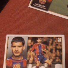 Cromos de Fútbol: GUARDIOLA BARCELONA ESTE 98 99 1998 1999 SIN PEGAR. Lote 218641223