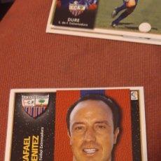 Cromos de Fútbol: BENITEZ EXTREMADURA ESTE 98 99 1998 1999 SIN PEGAR. Lote 218641301