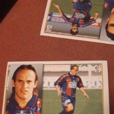 Cromos de Fútbol: DURE EXTREMADURA ESTE 98 99 1998 1999 SIN PEGAR. Lote 218641321
