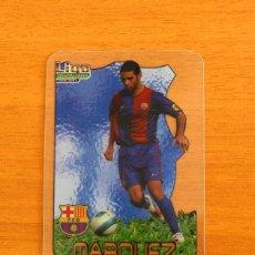 Cromos de Fútbol: BARCELONA - MÁRQUEZ, Nº 07, 7 - LIGA 2006-2007, 06-07 - MUNDICROMO-MUNDI CROMO CRYSTAL CARDS. Lote 218794258