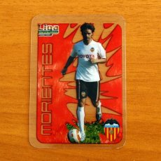 Cromos de Fútbol: VALENCIA - MORIENTES, Nº 052, 52 - LIGA 2006-2007, 06-07 - MUNDICROMO-MUNDI CROMO CRYSTAL CARDS. Lote 218794565