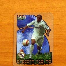 Cromos de Fútbol: REAL MADRID - ROBERTO CARLOS, Nº 027, 27 -LIGA 2006-2007, 06-07-MUNDICROMO-MUNDI CROMO CRYSTAL CARDS. Lote 218794697