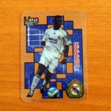 Cromos de Fútbol: REAL MADRID - DIARRA, Nº 027, 27 -LIGA 2006-2007, 06-07-MUNDICROMO-MUNDI CROMO CRYSTAL CARDS. Lote 218794750