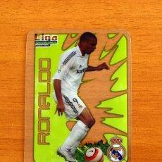 Cromos de Fútbol: REAL MADRID - RONALDO, Nº 036, 36 -LIGA 2006-2007, 06-07-MUNDICROMO-MUNDI CROMO CRYSTAL CARDS. Lote 218794848