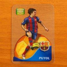 Cromos de Fútbol: BARCELONA - PUYOL, Nº 546 - LIGA 2005-2006, 05-06-MUNDICROMO-MUNDI CROMO CRYSTAL CARDS DANET. Lote 218794968
