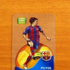 Cromos de Fútbol: BARCELONA - PUYOL, Nº 546 - LIGA 2005-2006, 05-06-MUNDICROMO-MUNDI CROMO CRYSTAL CARDS DANET. Lote 218794981