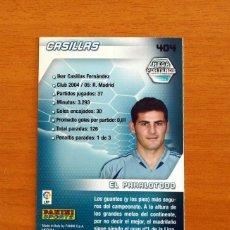 Cromos de Fútbol: REAL MADRID - CASILLAS, Nº 404 - LIGA 2005-2006, 05-06 - MEGA PORTEROS - PANINI MEGACRACKS. Lote 218795597