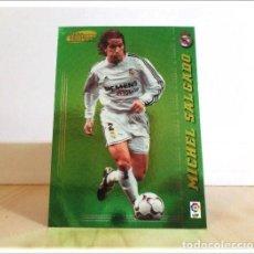 Cromos de Fútbol: MEGACRACKS 2004 2005 04 05 PANINI MICHEL SALGADO Nº 368 MEGA ESTRELLAS REAL MADRID ALBUM LIGA MGK. Lote 218824983