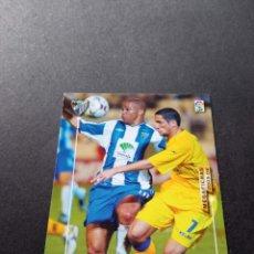 Cromos de Fútbol: 179 BIS EDGAR MALAGA MEGAFICHAS MEGACRACKS PANINI 2003 2004 03 04 NO LIGA ESTE ALBUM. Lote 218825008