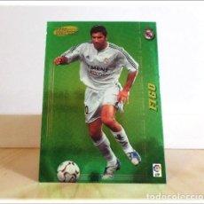Cromos de Fútbol: MEGACRACKS 2004 2005 04 05 PANINI FIGO Nº 381 MEGA ESTRELLAS REAL MADRID ALBUM LIGA FÚTBOL MGK. Lote 218825041
