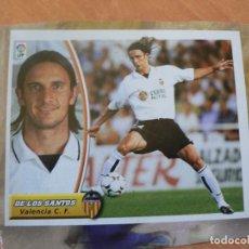 Cromos de Fútbol: CROMO LIGA ESTE 2003 2004 03 04 RECORTADO DE LOS SANTOS VALENCIA BAJA. Lote 218825225