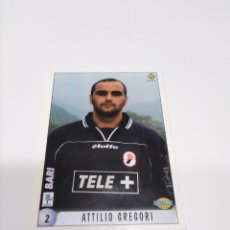 Cromos de Fútbol: MUNDICROMO CALCIATORI 2000 N° 2 ATTILIO GREGORI & MICHELE MARCOLINI - BARI.. Lote 218825243