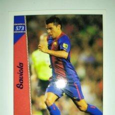 Cromos de Fútbol: MUNDICROMO LAS FICHAS DE LA LIGA 2007 SAVIOLA N° 573 BARCELONA. Lote 218828005
