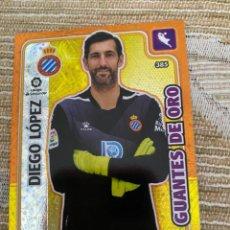 Cromos de Fútbol: 385 DIEGO LOPEZ ESPAÑOL GUANTES DE ORO ADRENALYN XL PANINI 2019 2020 19 20 CROMOS. Lote 218828008