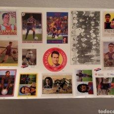 Cromos de Fútbol: CROMOS BARÇA - 100 ANYS DE RECORDS - LÁMINA 5. Lote 218828071
