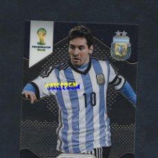 Cromos de Fútbol: MESSI ARGENTINA Nº 12 PRIZM WORLD CUP 2014 BRASIL COPA MUNDIAL PANINI. Lote 218828091
