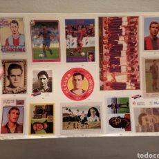 Cromos de Fútbol: CROMOS BARÇA - 100 ANYS DE RECORDS - LÁMINA 20. Lote 218828241