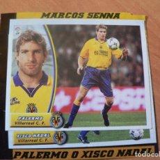 Cromos de Fútbol: CROMO LIGA ESTE 2003 2004 03 04 RECORTADO PALERMO VILLARREAL BAJA. Lote 218828395