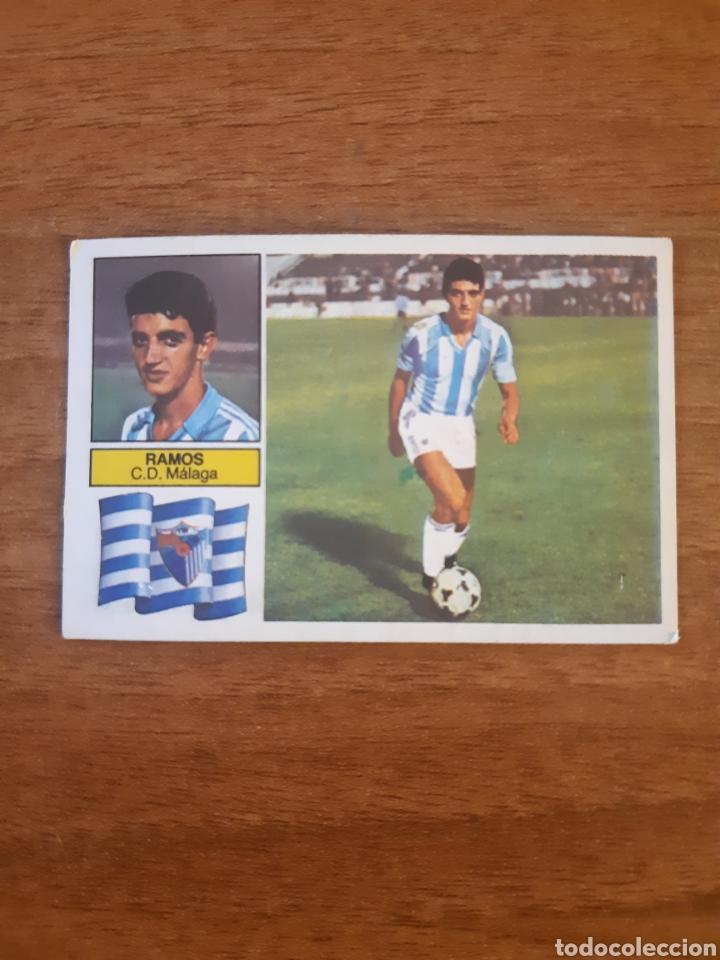 COLOCA RAMOS (MÁLAGA) LIGA 82-83 ESTE. NUNCA PEGADO (Coleccionismo Deportivo - Álbumes y Cromos de Deportes - Cromos de Fútbol)