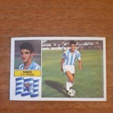 Cromos de Fútbol: COLOCA RAMOS (MÁLAGA) LIGA 82-83 ESTE. NUNCA PEGADO. Lote 218829692