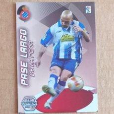 Cromos de Fútbol: CROMO Nº 412 DE LA PEÑA ESPAÑOL MEGA MAESTROS MEGACRACKS 2006-2007 DE PANINI.. Lote 218830043