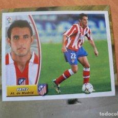 Cromos de Fútbol: CROMO LIGA ESTE 2003 2004 03 04 RECORTADO ORTIZ ATLETICO MADRID COLOCA. Lote 218830707