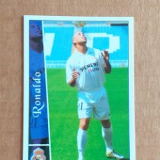 Cromos de Fútbol: CROMO Nº 76 RONALDO REAL MADRID MUNDICROMO 2002-2003. NUEVO DE SOBRE.. Lote 218831200