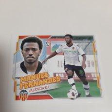 Cromos de Fútbol: COLOCA MANUEL FERNANDES.. VALENCIA.. ESTE 10/11. Lote 218831268