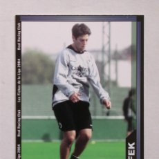 Cromos de Fútbol: Nº 607 AFEK DE LAS FICHAS DE LA LIGA 2003 2004 03 04 DE MUNDICROMO. Lote 218831290