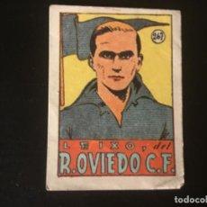 Cromos de Fútbol: CROMOS CULTURA 1942 BRUGUERA OVIEDO LEIXO 267. Lote 218946505