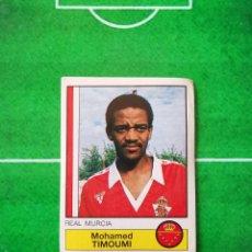 Cromos de Fútbol: CROMO SIN PEGAR DEL ALBUM FUTBOL 1987 LIGA 1ª DIVISION 87 88 PANINI 166 TIMOUMI MURCIA. Lote 218946523