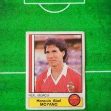 Cromos de Fútbol: CROMO SIN PEGAR DEL ALBUM FUTBOL 1987 LIGA 1ª DIVISION 87 88 PANINI 167 MOYANO MURCIA. Lote 218946531