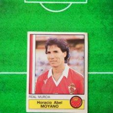 Cromos de Fútbol: CROMO SIN PEGAR DEL ALBUM FUTBOL 1987 LIGA 1ª DIVISION 87 88 PANINI 167 MOYANO MURCIA. Lote 218946542