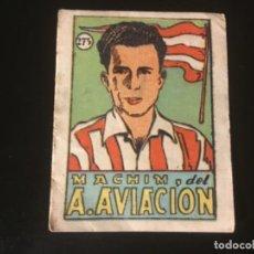 Cromos de Fútbol: CROMOS CULTURA 1942 BRUGUERA ATLÉTICO AVIACION MACHIN 273. Lote 218946551
