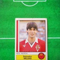 Cromos de Fútbol: CROMO SIN PEGAR DEL ALBUM FUTBOL 1987 LIGA 1ª DIVISION 87 88 PANINI 168 MEJIAS MURCIA. Lote 218946562