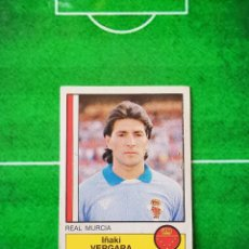 Cromos de Fútbol: CROMO SIN PEGAR DEL ALBUM FUTBOL 1987 LIGA 1ª DIVISION 87 88 PANINI 169 VERGARA MURCIA. Lote 218946572