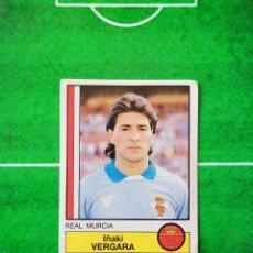Cromos de Fútbol: CROMO SIN PEGAR DEL ALBUM FUTBOL 1987 LIGA 1ª DIVISION 87 88 PANINI 169 VERGARA MURCIA. Lote 218946577