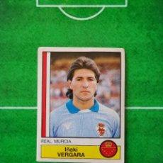 Cromos de Fútbol: CROMO SIN PEGAR DEL ALBUM FUTBOL 1987 LIGA 1ª DIVISION 87 88 PANINI 169 VERGARA MURCIA. Lote 218946580