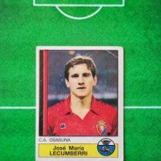Cromos de Fútbol: CROMO SIN PEGAR DEL ALBUM FUTBOL 1987 LIGA 1ª DIVISION 87 88 PANINI 197 LECUMBERRI OSASUNA. Lote 218946618