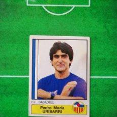 Cromos de Fútbol: CROMO SIN PEGAR DEL ALBUM FUTBOL 1987 LIGA 1ª DIVISION 87 88 PANINI 211 URIBARRI SABADELL. Lote 218946633