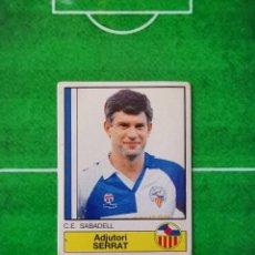 Cromos de Fútbol: CROMO SIN PEGAR DEL ALBUM FUTBOL 1987 LIGA 1ª DIVISION 87 88 PANINI 215 SERRAT SABADELL. Lote 218946685