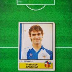 Cromos de Fútbol: CROMO SIN PEGAR DEL ALBUM FUTBOL 1987 LIGA 1ª DIVISION 87 88 PANINI 216 SANCHEZ SABADELL. Lote 218946695