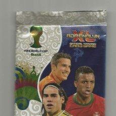 Cromos de Fútbol: SOBRE SIN ABRIR: ADRENALYN MUNDIAL DE BRASIL. Lote 218955231
