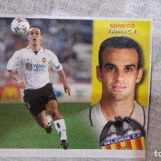 Cromos de Fútbol: LIGA ESTE 2002 2003 CROMO RECORTADO GARRIDO FICHAJES 16 BIS VALENCIA CF DIFICIL. Lote 218991817