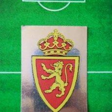 Cromos de Futebol: CROMO SIN PEGAR FUTBOL 78 79 MAGA LIGA 1978 1979 309 PLATA ESCUDO REAL ZARAGOZA. Lote 219143007