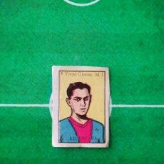 Cromos de Fútbol: CROMO SIN PEGAR ASES DEL FUTBOL 192 FOTOGRAFIAS 1950 BRUGUERA 5 VIEJAS GLORIAS ALCANTARA. Lote 219275950