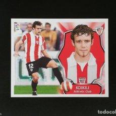 Figurine di Calcio: ATB KOIKILI ATHLETIC DE BILBAO 2008 2009 LIGA 08 09 EDICIONES ESTE SIN PEGAR NUNCA. Lote 219462736
