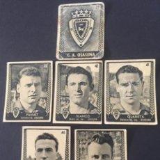 Cromos de Fútbol: LOTE DE 6 CROMOS DE FUTBOL DEL CLUB ATLETICO OSASUNA. Lote 219639045